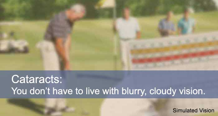 Cataracts: You don't have to live with blurry, cloudy vision. Spinak Medical Eye Center, Rockland County, NY
