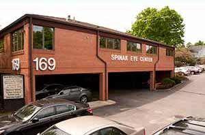 Spinak Medical Eye Center on corner or N. Middletown Rd and Forest Ave in Pearl River, NY